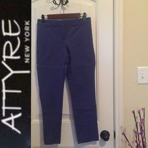 💥5for$25💥 GUC Attyre Blue Ankle Pants Sz 2P
